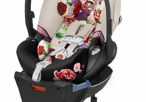 Cybex Cybex Cloud Q Sensorsafe Infant Car Seat In Light Spring Blossom