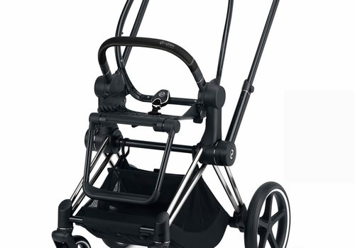 Cybex 2020 Cybex ePRIAM Frame Included Seat Hardpart In Chrome Black