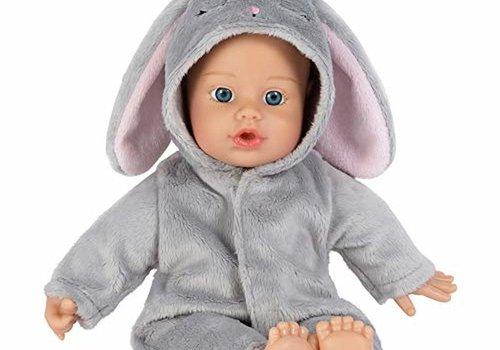 Adora Adora Funsie Onesie Baby Bunny