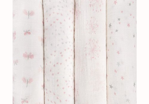 aden + anais aden + anais Lovely Reverie Classic Swaddles (4 Pack)