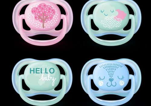 Avent Philips Avent Air Pacifier 6-18 Month 2 Pieces ONLY