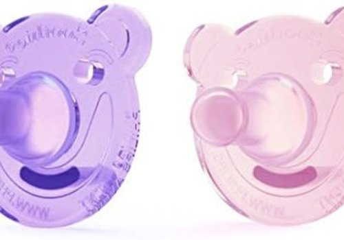 Avent Philips AVENT Soothie Bear Shape Pacifier, 0-3 Months, 2-Pack,
