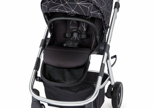 Diono Diono Excurze Luxe Stroller In Black Platinum