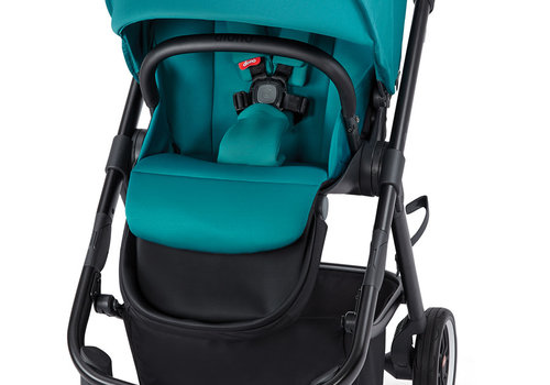 Diono Diono Excurze Stroller In Black Turquoise