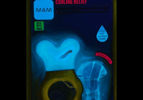 Mam Mam Mini Cool Teether Pacifier 2-Pack (Assorted) - 0-6 months