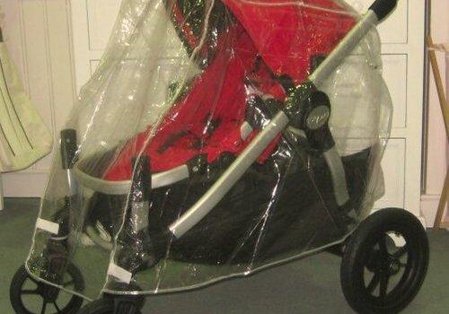 Sashas Kiddie Products Sashas Baby Jogger City Select Stroller Single Rain Cover