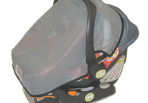 Sashas Kiddie Products Sashas Infant Carrier - Car Seat  Wrap Around Sun, Wind & Insect Cover