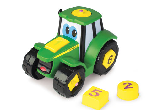 Tomy Tomy John Deere Learn And Pop Johnny Tractor