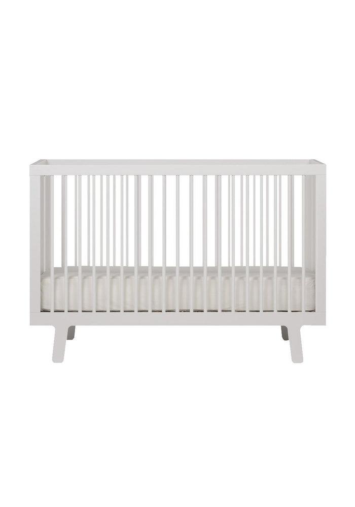 Oeuf Sparrow Crib In White