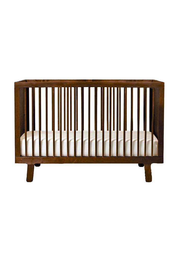 Oeuf Sparrow Crib In Walnut