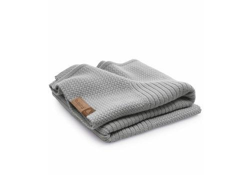 Bugaboo Bugaboo Wool Blanket 100% Extra Fine Merino Wool In Light Grey Melange