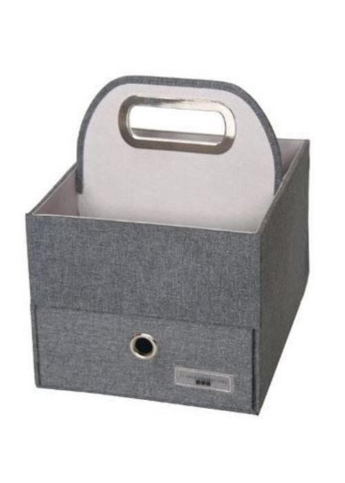 JJ Cole Collections JJ Cole Diapers And Wipes Caddy In Slate Heather