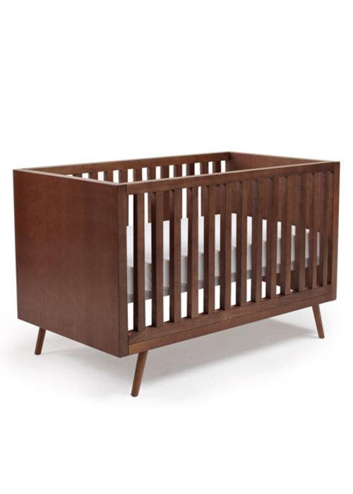 Ubabub Ubabub Nifty Timber Crib In Walnut
