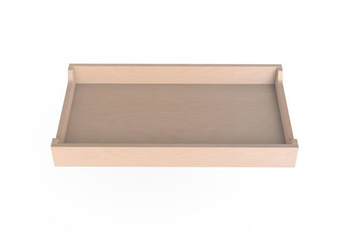 Spot On Square Spot On Square 34'' Wide  Changing Tray-Birch