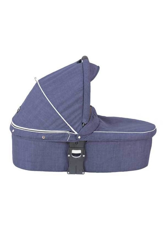 CLOSEOUT!! Valco Baby Q Snap Ultra Bassinet In Denim