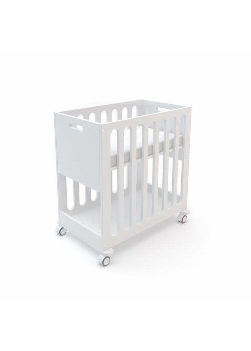Oeuf Oeuf Fawn 2 In 1 Bassinet -Crib System In All White