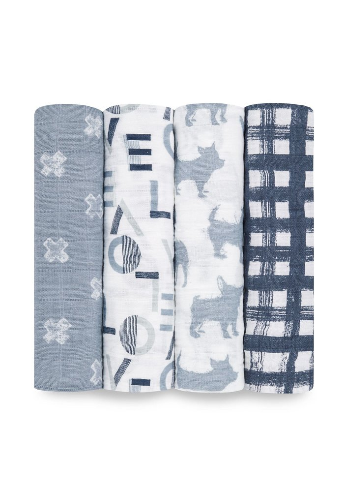 aden + anais Waverly Classic Swaddles (4 Pack)