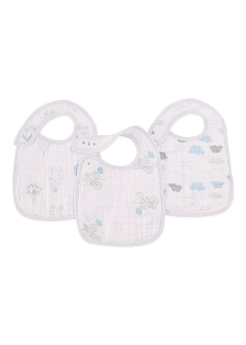 aden + anais aden + anais Lovely Night Sky Reverie Snap Bibs (3 Pack)