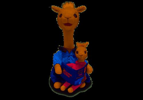 "Cuddle Barn Cuddle Barn 14"" Animated Mama Llama"