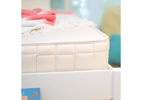 """Naturepedic Naturepedic Twin Size 2 In 1 Ultra/Quilted Trundle Short 38"""" x 71"""" x 5"""""""