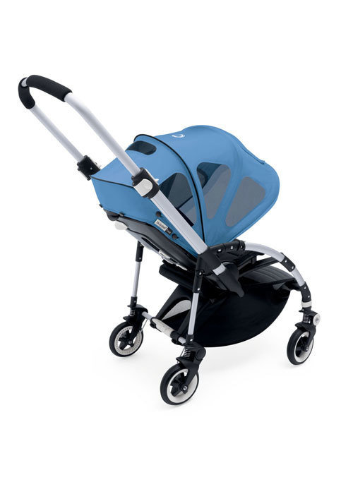 Bugaboo CLOSEOUT!! Bugaboo Bee Breezy Sun Canopy In Ice Blue