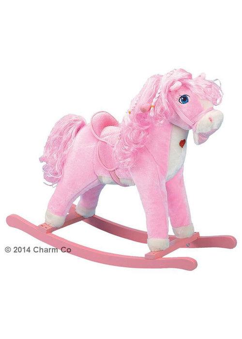 Charm Charm Pink Horse Rocker (Pink Heart Lights Up)
