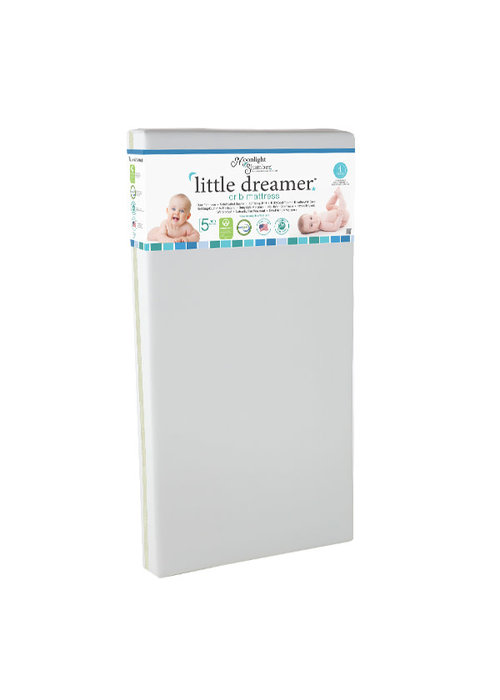 Moonlight Slumber Moonlight Slumber Little Dreamer All Foam Crib Mattress- Dual Firmness
