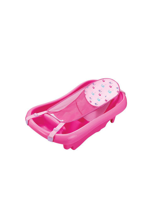 The First Years The First Year's Infant To Toddler Tub with Sling, Pink