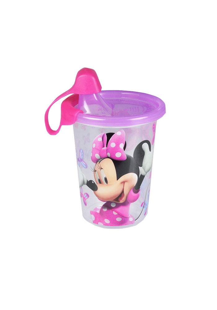 The First Year's Minnie Mouse 10 Oz sippy cup 3 pack with travel Cap