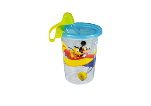 The First Years The First Year's Mickey Mouse 10 Oz sippy cup 3 pack with travel Cap
