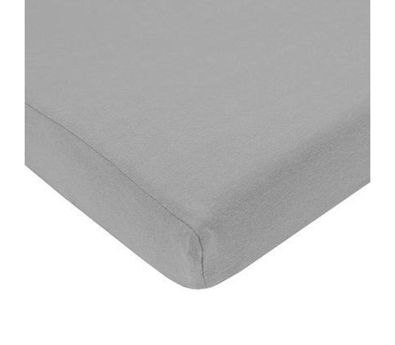 American Baby Pack N Play Value Jersey Sheet- Gray