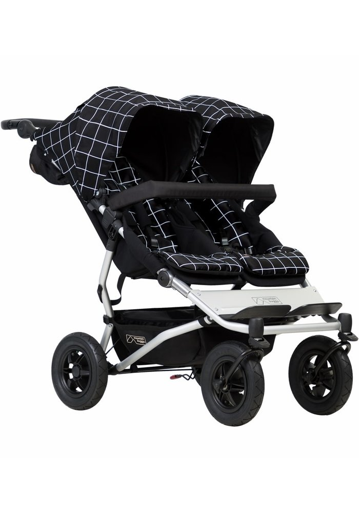 Mountain Buggy Duet Double In Grid