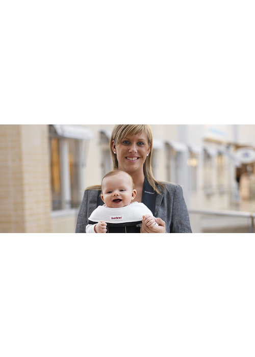 Baby Bjorn CLOSEOUT!! BABYBJORN Bib For Baby Carrier 2 Pack- White