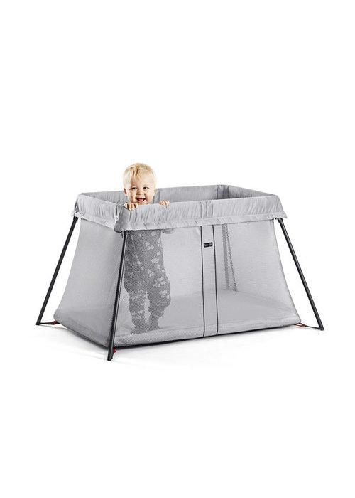 Baby Bjorn BABYBJORN Travel Crib Light In Silver Mesh