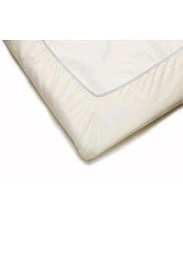 BABYBJORN Fitted Sheet for Travel Crib Light In Natural White Organic