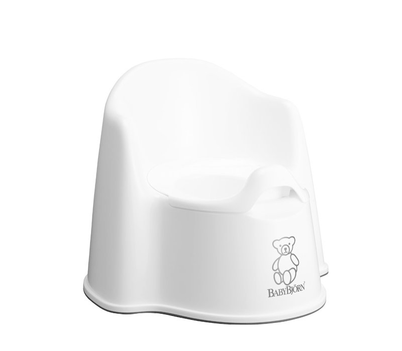 BABYBJORN Potty Chair In White