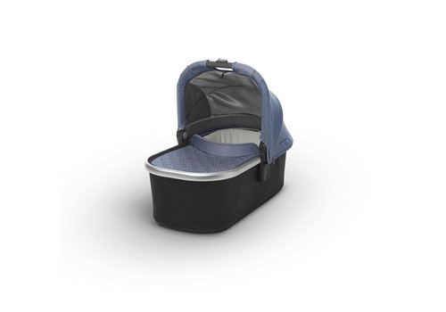 UppaBaby CLOSEOUT!! Uppa Baby Vista-Cruz Bassinet In Henry (Blue Marl-Silver-Leather)