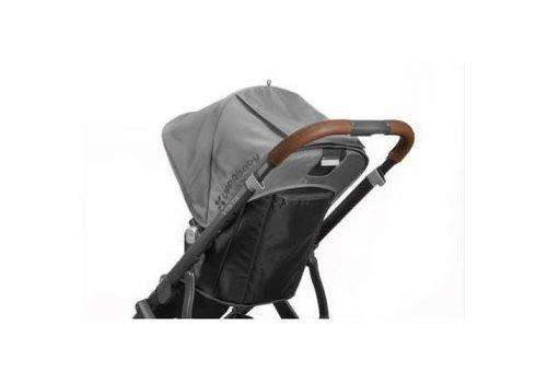 UppaBaby Uppa Baby Vista Leather Handlebar Covers-For Vista 2015-Later In Brown
