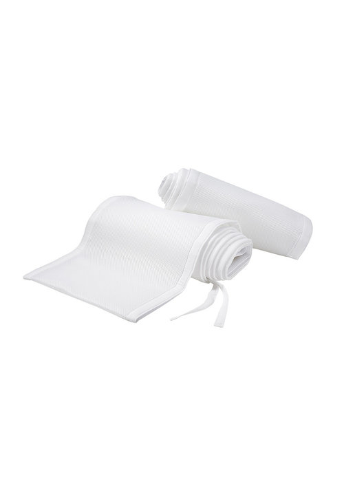Breathable Baby Breathable Baby Breathable Mesh Crib Liners In White
