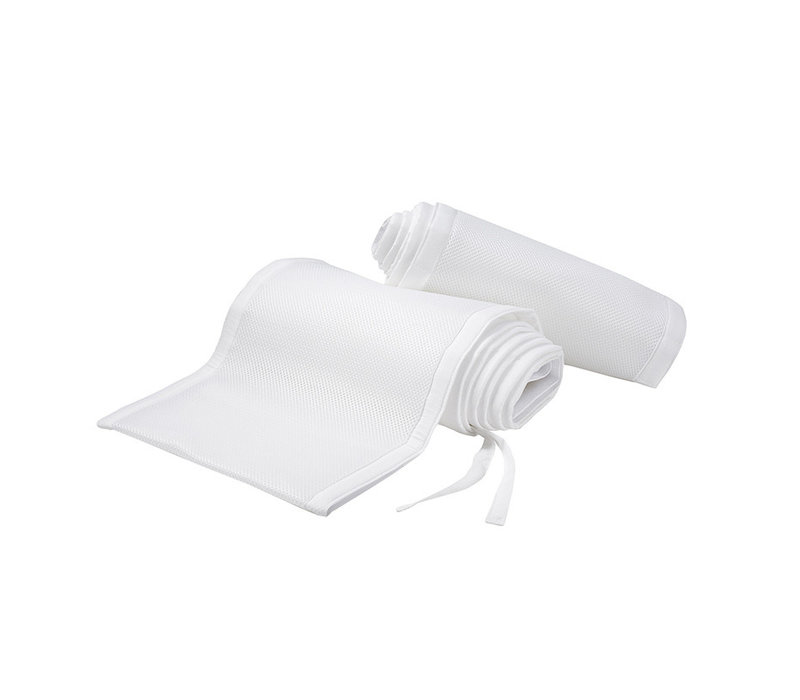 Breathable Baby Breathable Mesh Crib Liners In White