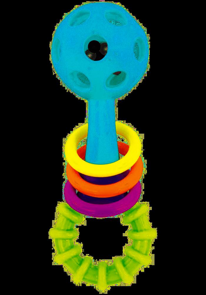 Sassy Peek-A- Boo Beads Rattle