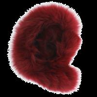 Baby Frr Fur For Doona In Burgundy