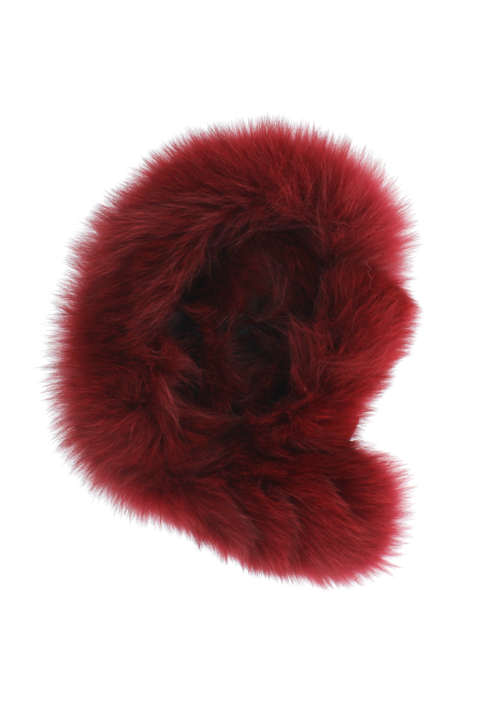 Baby Frr Fur For Doona In Burgundy