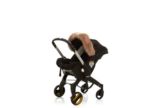 Baby Frr Baby Frr Fur For Doona In Coffee Fox