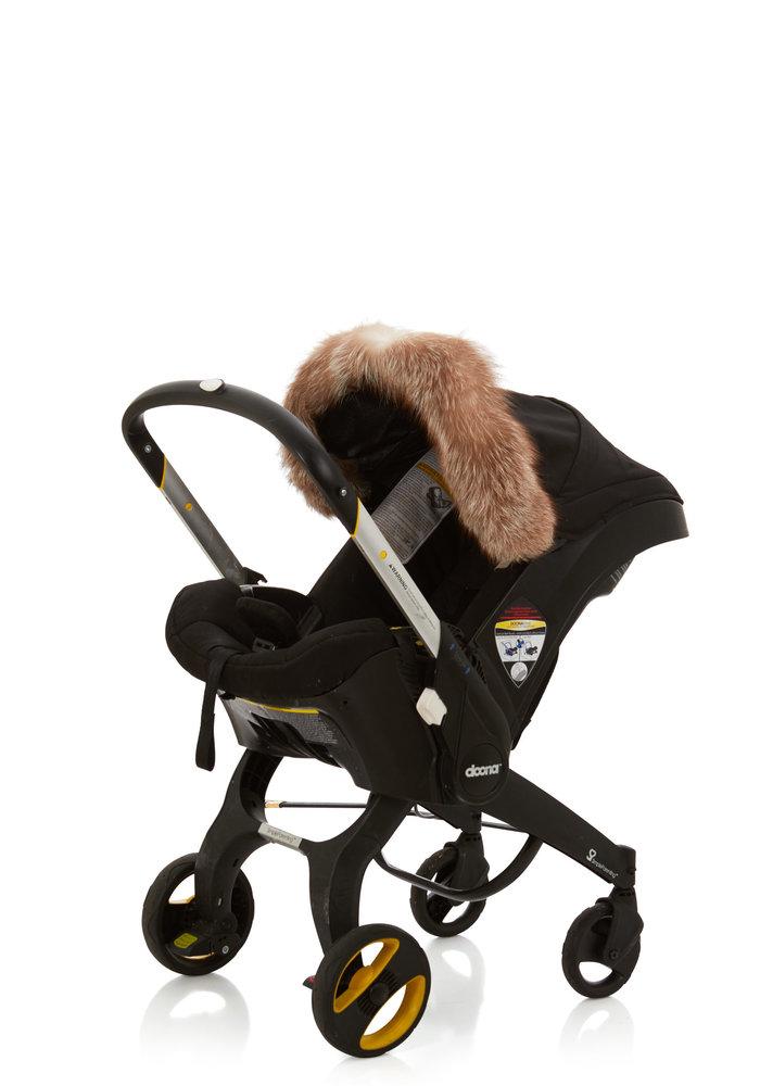 Baby Frr Fur For Doona In Coffee Fox