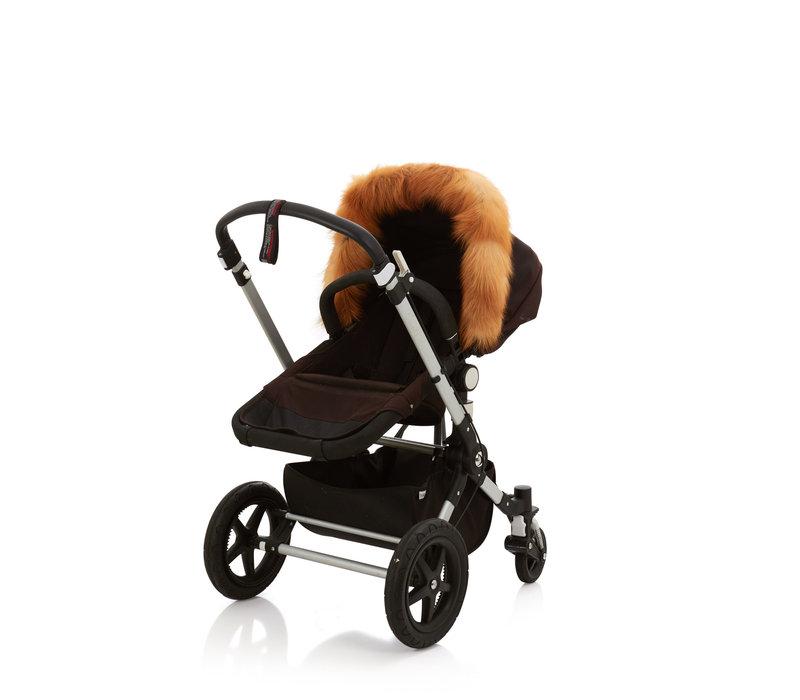 Baby Frr Fur For Stroller In Red Fox
