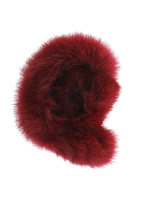 Baby Frr Baby Frr Fur For Stroller In Burgundy