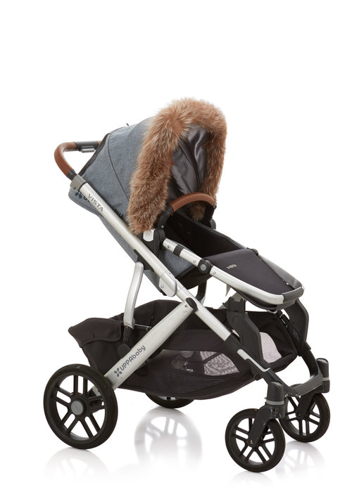 Baby Frr Baby Frr Fur For Stroller In Coffee Fox