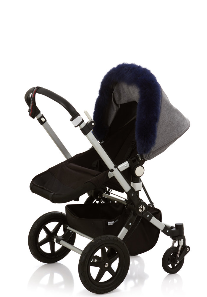 Baby Frr Fur For Stroller In Navy