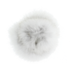 Baby Frr Baby Frr Fur For Doona In White With Black Tips (Natural BL)